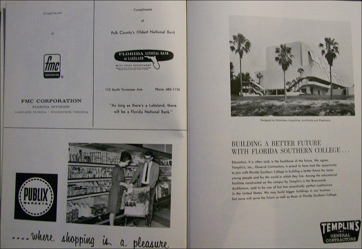 Florida Southern College Lakeland Yearbook 1966 Annual