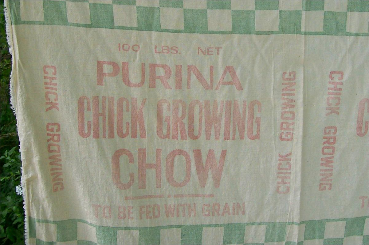 Purina Chick Chow Feed Sack