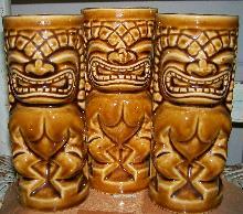 Tiki Tumbler/Vase: