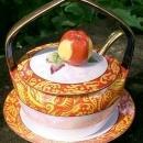 Noritake Art Deco Lusterware Jam Dish Set