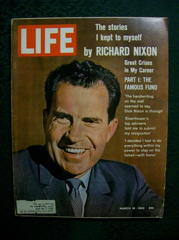 the political career and presidency of richard milhouse nixon President richard m nixon said those words on august 9, 1974 to his administrative staff just after resigning the presidency there are few political characters in american history that are as difficult to define as richard m nixon.