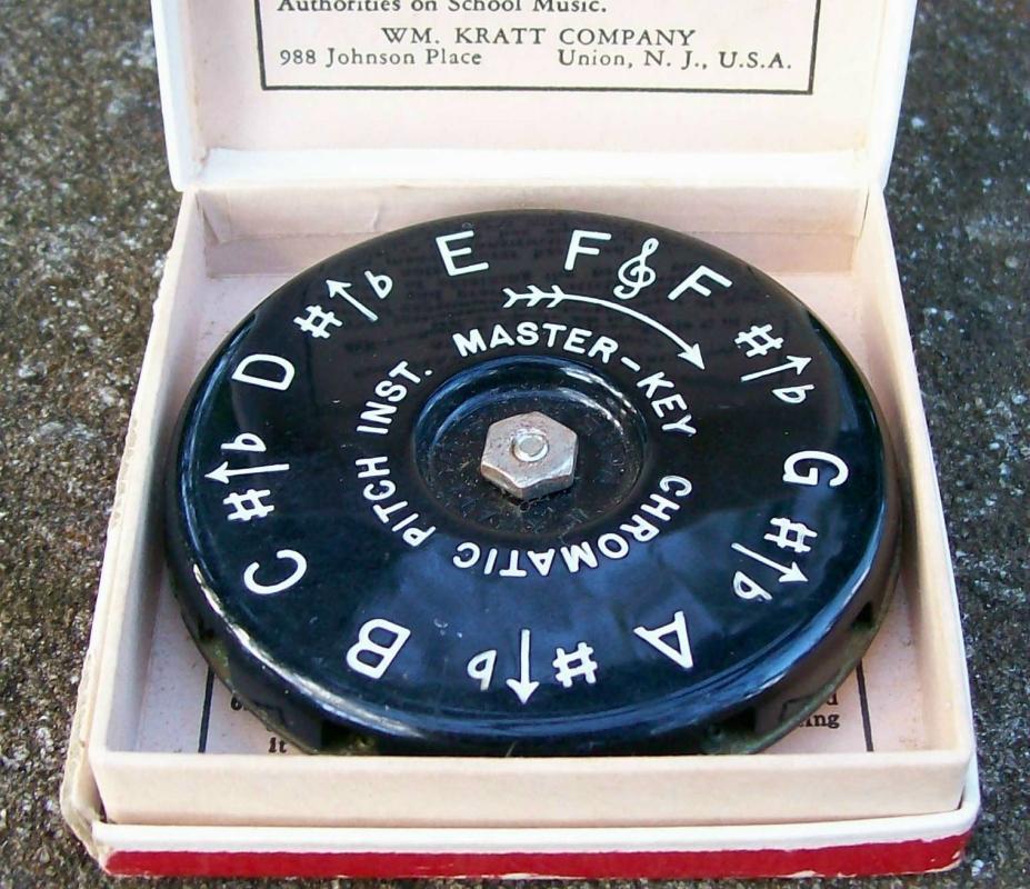 Kratt Master Key Chromatic Pitch Instrument