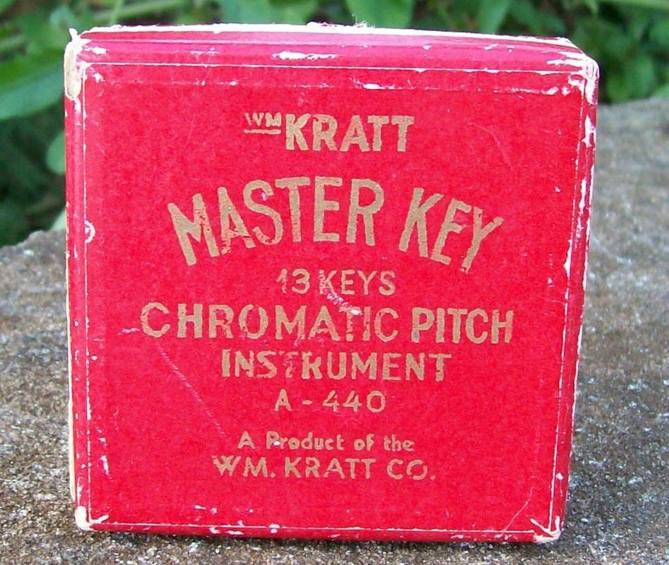 Kratt Master Key Chromatic Pitch Instrument