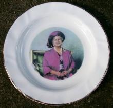Queen Mother Elizabeth Birthday Dish