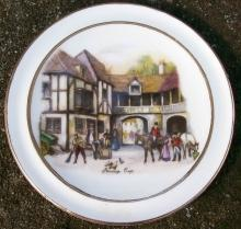 Hunt Scene Plate: Vale Bone China