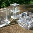 German Crystal Smoke Set