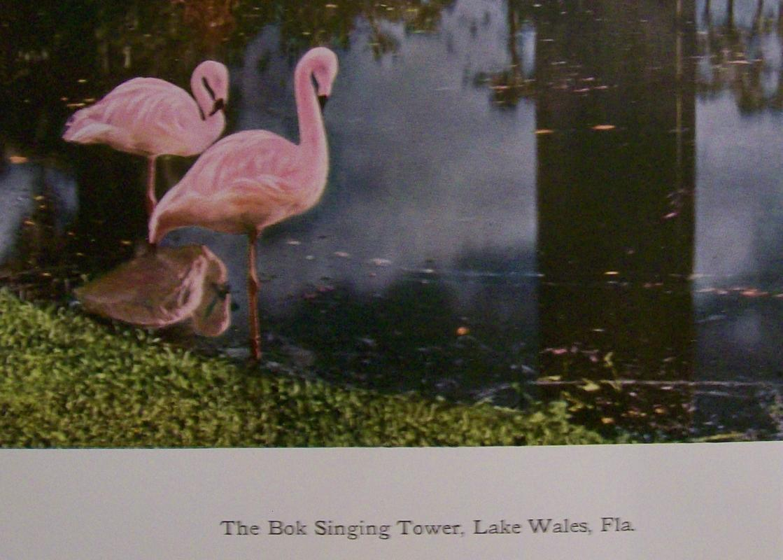 Bok Singing Tower Print Lake Wales Florida Carillon Dresden Germany 1920's-30's