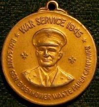 Boy Scouts/ Eisenhower WWII Service Medal