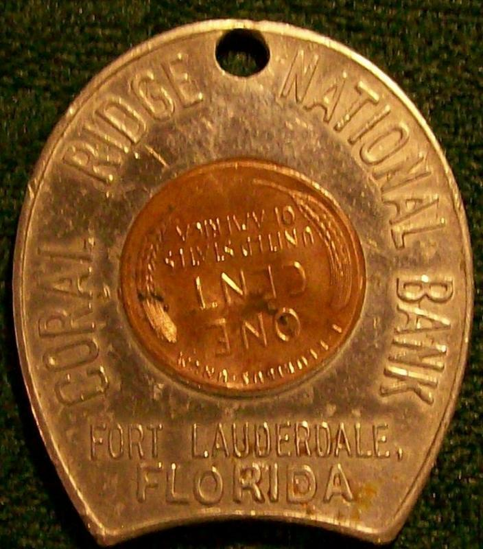 Ft. Lauderdale Florida Bank Advertising Token
