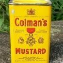 Spice Tin: Colman's Mustard, Circa 1930's
