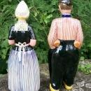 Zenith Gouda Ceramic Bols Liquer Dutch Couple Decanter Pair