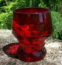 Cambridge Georgian Glass Tumbler Carmen Red