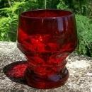 Cambridge Georgian Glass Tumbler #319 Ruby/Carmen Red 4