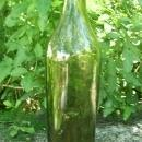 Wine Bottle: Circa 1800 Free-Blown