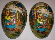 Easter Egg Candy Container: German Democratic Republic