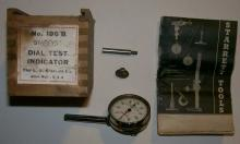 Starrett Dial Test Indicator Tool #196B with Box & Catalog