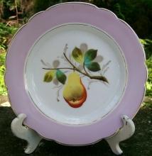 Limoges Fruit Plate: Ca. 1880