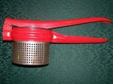 Kitchen Ricer with Red Handle