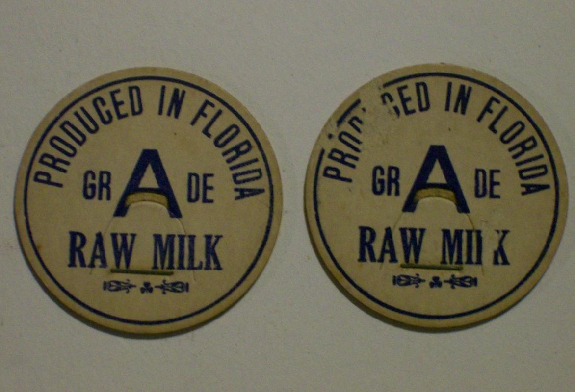 Dairy Milk Caps: Florida