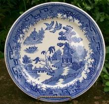 Sterling China Restaurant Ware Blue