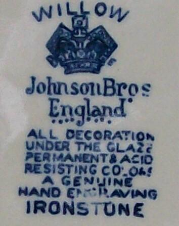 Johnson Brothers Blue