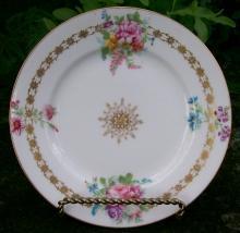 Ahrenfeldt Limoges Ceramic Plate: Ca. 1900