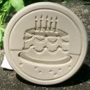 Brown Bag Cookie Stamp: Birthday Cake No. 35 New with Recipe Tag