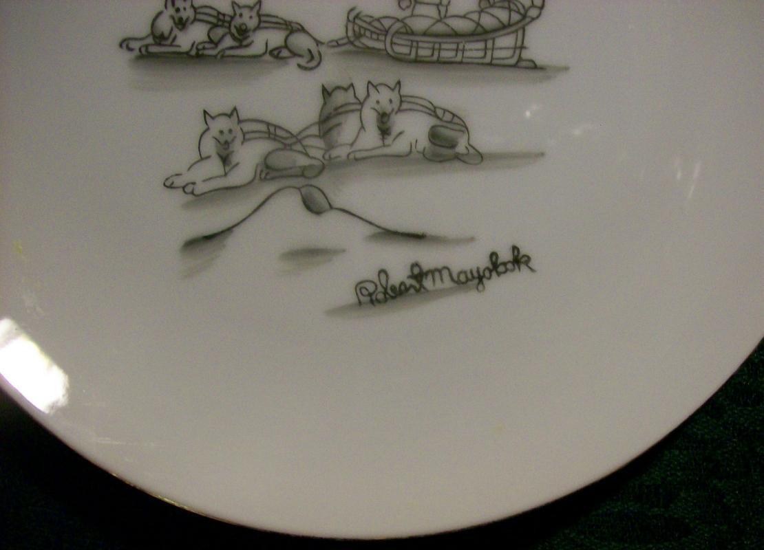 Mayokok Eskimo Print Plate