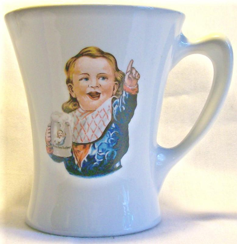 Hire's Root Beer Advertising Ceramic Mug Crush 1960+ 4