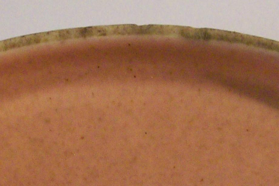 Steubenville Russel Wright American Modern Ceramic Ramekin Cover Coral Pink