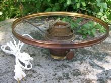 Vintage Electrified Aladdin Lamp Burner w/ 10