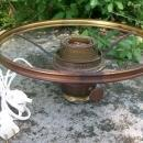 Electrified Aladdin Burner with Shade Holder Ring