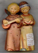 Hummel Angelic Song #144 by Goebel 1950's