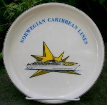 Norwegian Caribbean Lines Ceramic Ashtray 1960's-70's 7