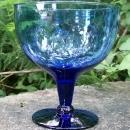 Cobalt Glass Seafood Cocktail Icer/Goblet