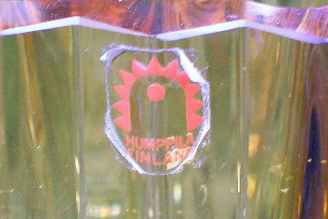 Scandinavian Humppila Finland Vase: Wirkkala