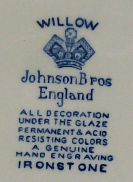Johnson Brothers Blue