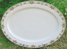 C. Tielsch Ceramic Platter #2251, Silesia/Germany