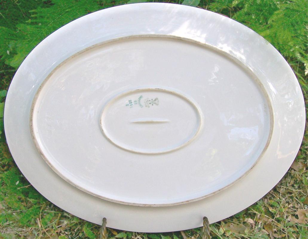 C. Tielsch Platter #2251 Altwasser Silesia/Germany Ceramic 15