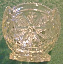 Georgia Belle/Western Star Open Sugar 15097 Clear Early American Pressed US Glass