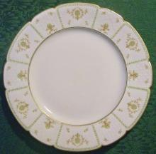 GDA Limoges Plate Basketweave Border Ca. 1941
