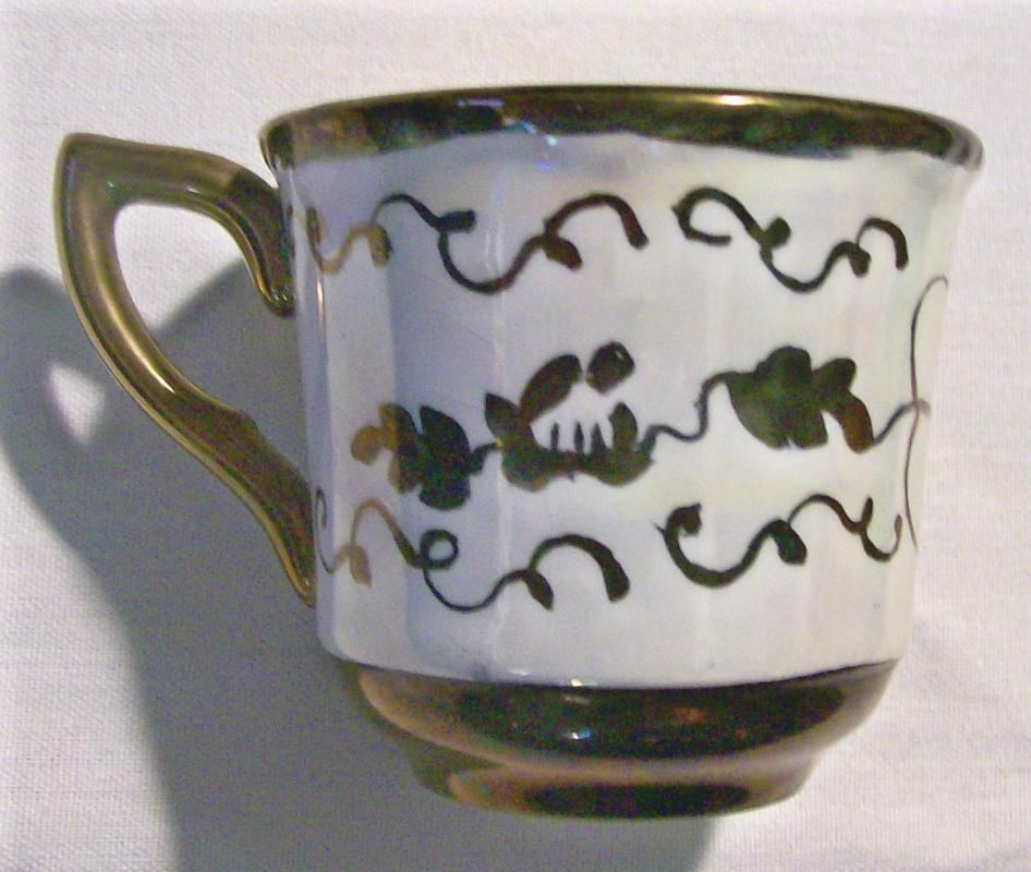 Cumbow China Demitasse Cup:
