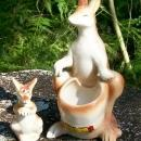 Kangaroo & Joey Nester Salt & Pepper Shakers: Blue Ridge Mtns/Bill's Place/Pennsylvania Souvenir