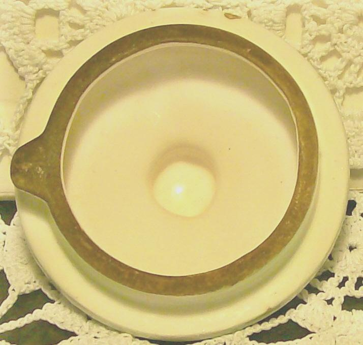 Florida Souvenir Ceramic Syrup Pitcher w/ Lid 4
