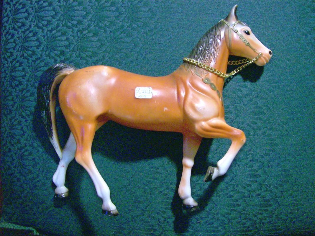 SW Plastic Toy Horse Figure #3155: 1950's