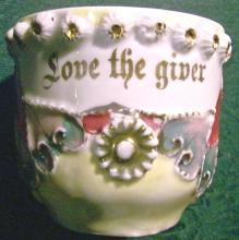 German Porcelain Mug