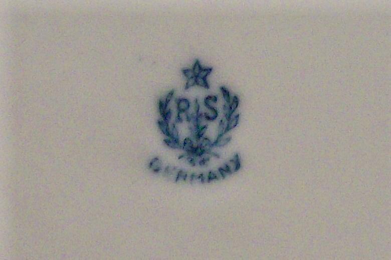 R.S. Germany Art Deco Luster Porcelain Bowl Ca. 1920's Schlegelmilch