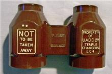 Temple Chambers London Bakelite Fixed Focus Theater Binoculars