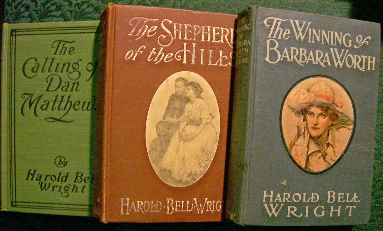 Harold Bell Wright Book Collection Early 1900's Set of 3