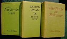 Peter B. Kyne Book Collection 1921-30 HB Set of 3